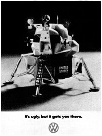 Original Beetle Advert, 1969